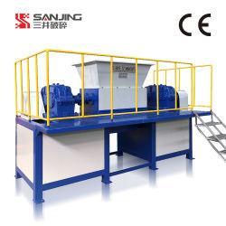 Trinciatrice industriale del documento elettrico dei rifiuti solidi