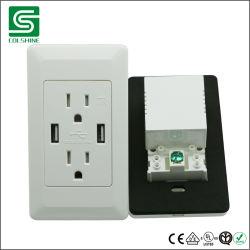 L'ETL 4.2A American Standard recto-verso prise mural USB électrique