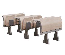 Student-Stuhl-Konferenzsaal-faltende Schreibtisch-Schule-Klassenzimmer-Möbel