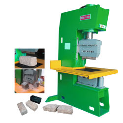 Machine de découpe de pierre de galets de marbre et granit