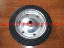 جلفانتين حافة عالية الجودة من الفولاذ محمل سديد عالي الجودة العجلة المطاطية للسوق الأوروبية (385X85 مم)