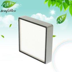 H13 H14 un filtre HEPA et Ultra-Fine en fibre de verre pour l'air de nettoyage du filtre à air