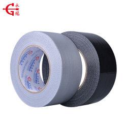 Клейкая лента для герметизации трубопроводов отопления и вентиляции Tpltape черное или серебряное цвета ткани