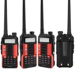 2020 de nieuwste Zendontvanger van de Walkie-talkie van Baofeng uv-6plus van de Stijl tweerichtings Radio8W 128CH Behandelde