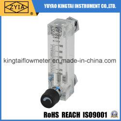 Lzm-6t acrílico baratos de bajo caudal de líquido corporal medidor de flujo de control