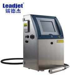 Caracteres pequeños industriales de lote y fecha de vencimiento de la máquina de impresión