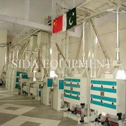 El responsable de la instalación de 200t/día el equipo de procesamiento de arroz