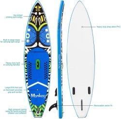 卸し売り安いIsupはかいボードのボードを旅行する膨脹可能なかい波ボードを立てる