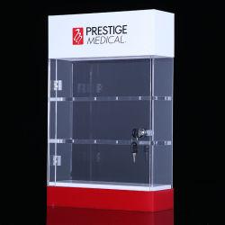 Personnaliser Plexi vitrine acrylique Watch Watch Display Cabinet pour stocker l'exposition