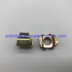 قفص صمولة [م8] صفراء زنك [بلت سبرينغ] فولاذ