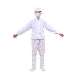 Electronics Coverall unisexe Scaphandres de protection antistatique ESD pardessus costume pour salle blanche