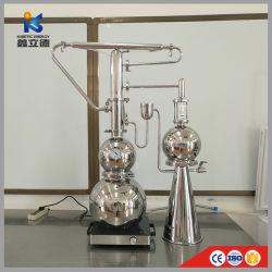 Extraer la planta de extracción del Extractor de Aceite Esencial de Lavanda Rosa hierba destilador equipo la máquina con el depósito de la columna de destilación