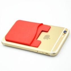 Support arrière de la carte de téléphone cellulaire adhésif Wallet pour cadeau