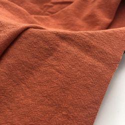 의복 숙녀를 위한 Dress 55%Linen 45%Viscose에 의하여 길쌈되는 직물을 세척하는 새로운 도착 모래