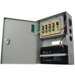 4CH 27.6V 2A 60W резервной батареи ИБП для систем видеонаблюдения и блок распределения питания