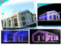 En14960 LEDの照明の証明によってカスタマイズされるサイズ18mx9mの膨脹可能なテント