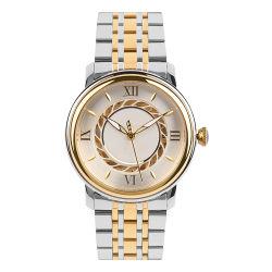 Мужские наручные часы в наручные часы автоматически из нержавеющей стали Mens Wristwatch Gold Business роскошь мужчин кварцевые часы водонепроницаемы