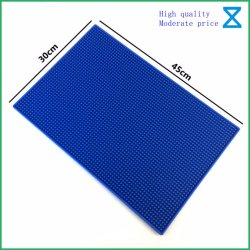 China profissionais de alta qualidade em silicone de borracha de PVC Barmat mesa de jantar para varejo e Wholesales Mat