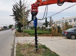 Trivello idraulico della coclea di terra del terreno di vendita di promozione di fabbrica escavatore caldo di prezzi CE/ISO del nuovo