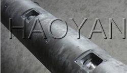 Escape duplo cilindro ventilada para usinas de pelotização reciclado/ Duplo parafuso e cilindro de exaustão/Plástico e Borracha peças de máquinas