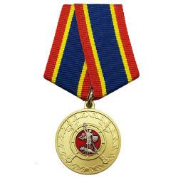 Commerce de gros médaillon en or personnalisé avec l'émail doux pour la décoration (125)