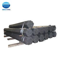 Precio más bajo la norma ASTM A53/EN10210/P195/P235/SS400/DN15/DN40/48.3mm/Subprocesos/pintado o galvanizado/Oval/Green House/Andamios/Mobiliario/Black/tubo de acero al carbono