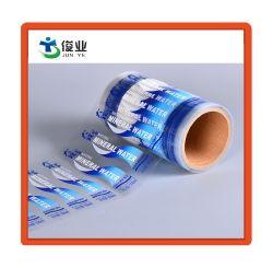 Custom Pet de PVC transparente de PP etiqueta adesiva para garrafa