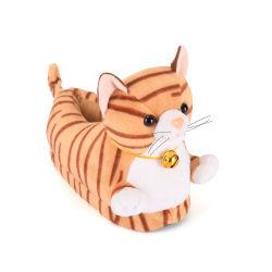 ورق رسومات الكارتون ذو الحجم المخصص Animal Animal Cat ناعم وممنع الانزلاق بالنعال الفاخرة