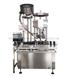 Hyf-4 Tampa de alumínio máquina de Vedação Automaic máquina de colagem para garrafa de vidro