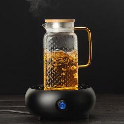 La Verrerie de grande capacité 2000ml boire pot en verre Boroslicate personnalisé de l'eau verseuse Pitcher