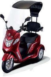 [ثر وهيلر] درّاجة ثلاثية يعجز كرسيّ ذو عجلات سيارة [سكوتر] مع سقف