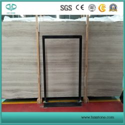 Кристально чистый белый деревянные мраморные плиты, деревянные мраморные плитки