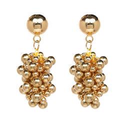 Commerce de gros 2018 Haut de la conception mode féminine Accessoires bijoux de mode de raisin de cristaux colorés Earrings