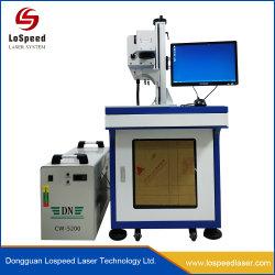 De blauwe Laser die van Co2 van de Kleur het Systeem van de Luchtkoeling van de Machine Voor de Machine van Engarving van de Materialen niet van het Metaal merkt