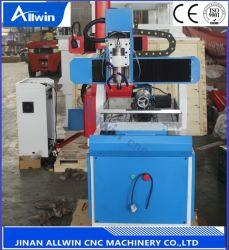 Fabrication de moules CNC Router 6060 machine à sculpter en métal de la machine de fraisage