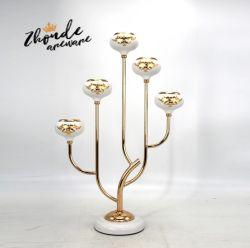 工場卸し売り高品質の白黒蝋燭ホールダーの蝋燭ホールダーの装飾