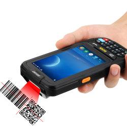 De ruwe GPS Handbediende Lezer PDA van de Streepjescode van de Computer van de Apparaten van de Inzameling van Gegevens Androïde Mobiele Draadloze 1d 2D
