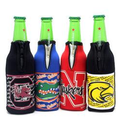 De promotie Fles van het Neopreen van de Douane kan de Koelere Koker van de Houder met Ritssluiting