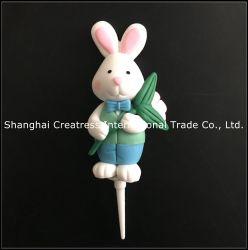 Globale Markt-Kuchen-Dekoration-Plastik-Lehm-Ostern-Verzierungen für Verkauf