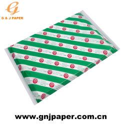 17-23GSM Sandwich blanc de qualité alimentaire dans la feuille de papier dans le carton de l'emballage