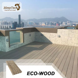 Outdoor moderno economico facile Installazione WPC materiale di costruzione per corridoio
