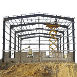 Saleのための高品質Prefabricated Hangar Industrial Workshop Warehouse Steel Structure Building