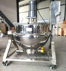200 het Verwarmen van de liter het Industriële Elektrische Dubbele Beklede Kooktoestel van de Mixer van de Ketel