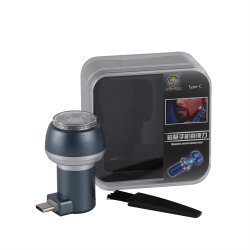 人のためのカスタム卸し売り小型USB携帯用旅行電話電気かみそり