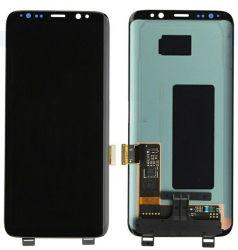 монитор с сенсорным экраном мобильного/сотового телефона для Samsung S8 G950f экран с дигитайзером