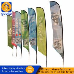 Custom Beach Flag, Promotion Flying Flag, Beach Teardrop Banner