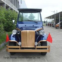 Zhongyi Real Estate Gebruikt Luxe Elektrische Auto Met 8 Zitplaatsen Vintage Car