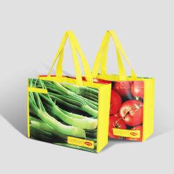 再生利用できる新式のNon-Woven袋はEcoの携帯用ショッピングを運ぶ