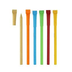 卸し売り安いロゴは昇進のペンによってリサイクルされたペーパーボールペンをカスタマイズした