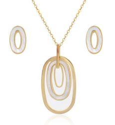 África Conjuntos de jóias colar, Jóias Conjuntos de ouro para as mulheres
